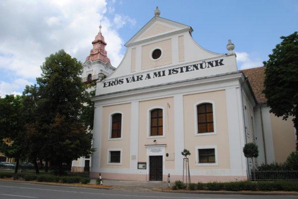 Evangélikus templom, Győry Vilmos tér