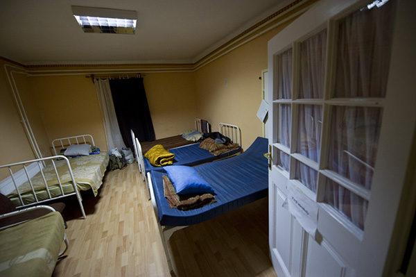 Hajléktalan szálló (fotó: Rosta Tibor)