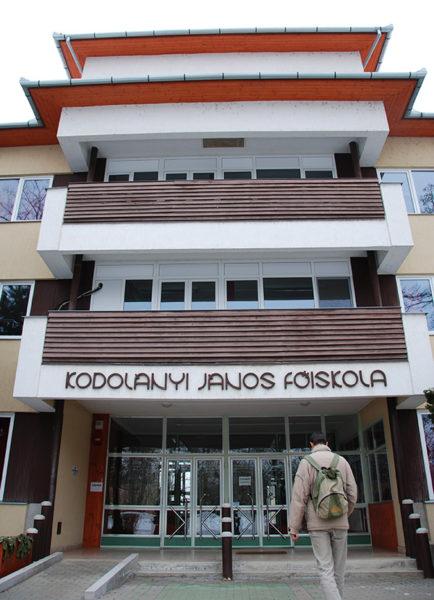 Kodolányi János Főiskola (fotó: Kecskeméti Krisztina)