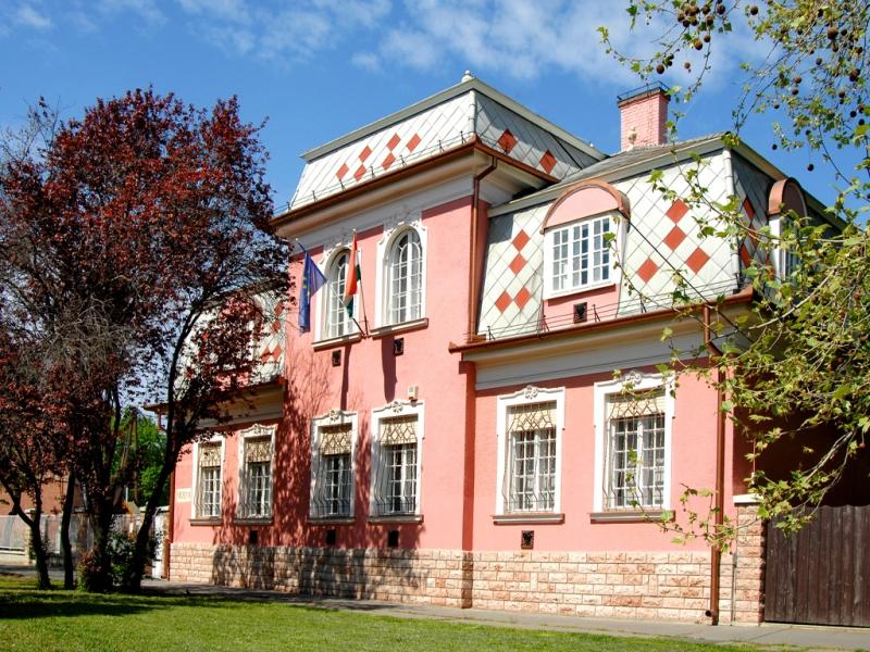 A Nagy Gyula Területi Múzeum Dózsa György utcai épülete